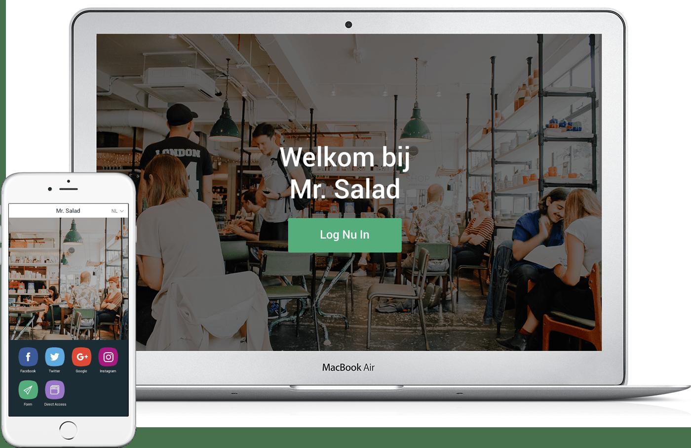 Simpel en gastvrij wifi
