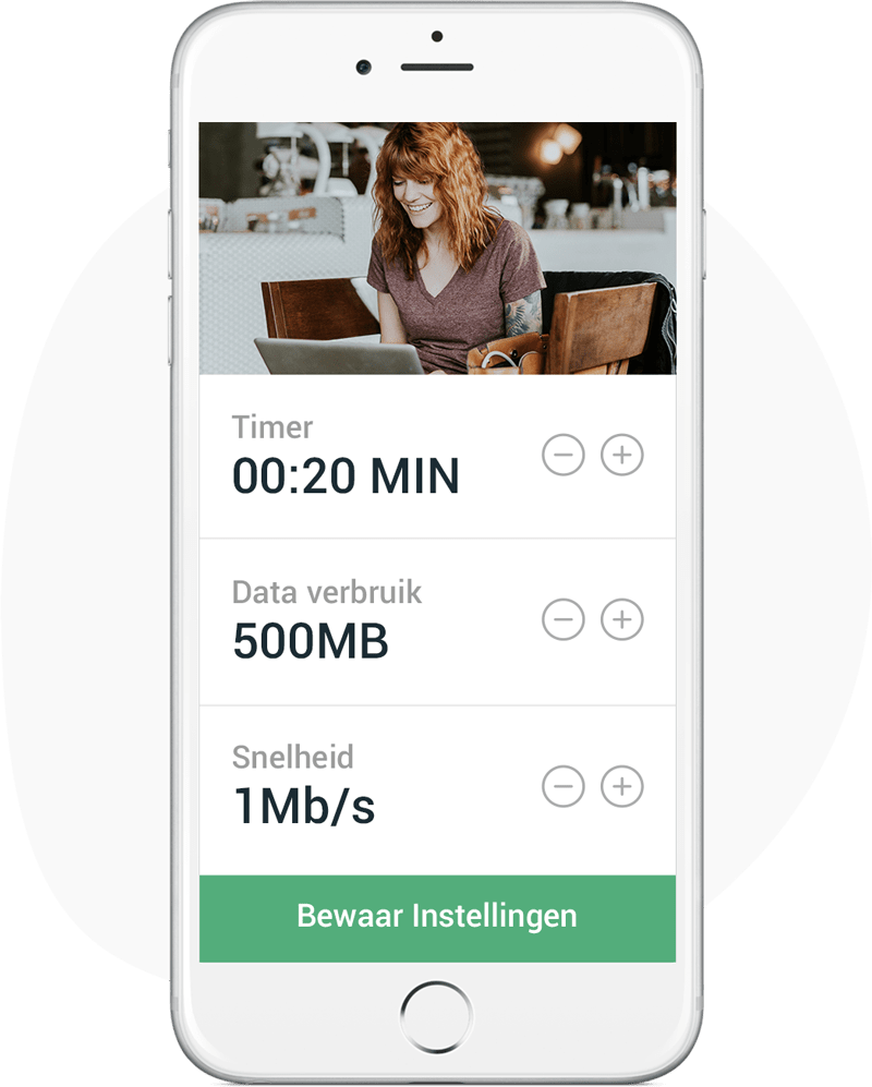 Gecontroleerd wifi plan