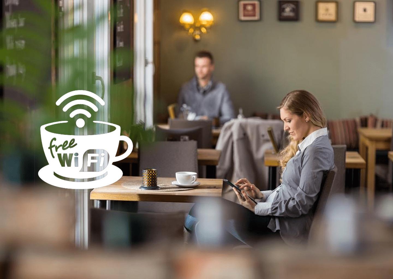 gratis cafe wifi