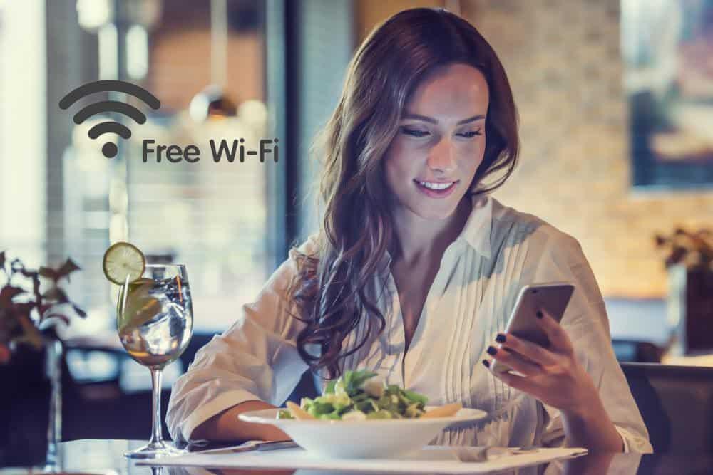 restaurant wifi hotspot
