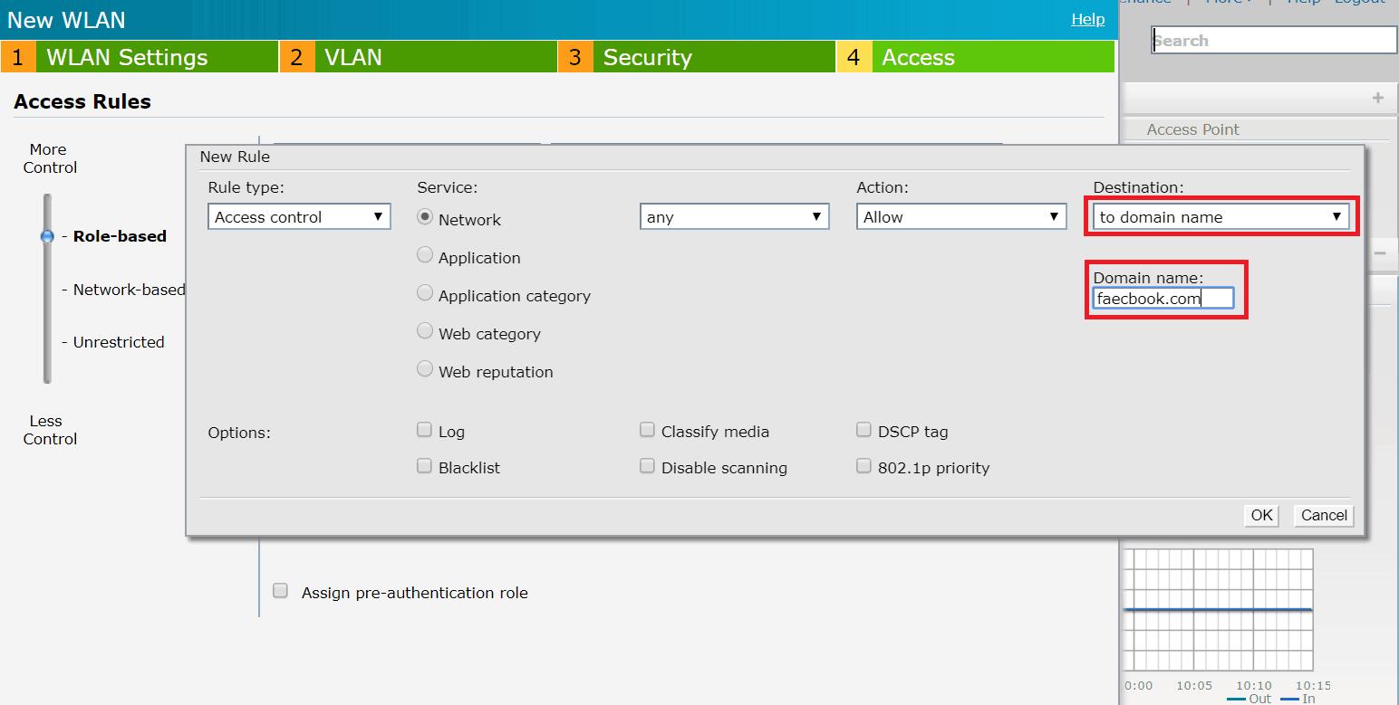 8 domain - Aruba iAP